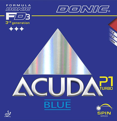"DONIC ""Acuda Blue P1 Turbo"""