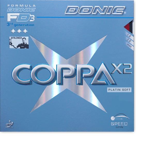 "DONIC ""Coppa X2 (Platin Soft)"""